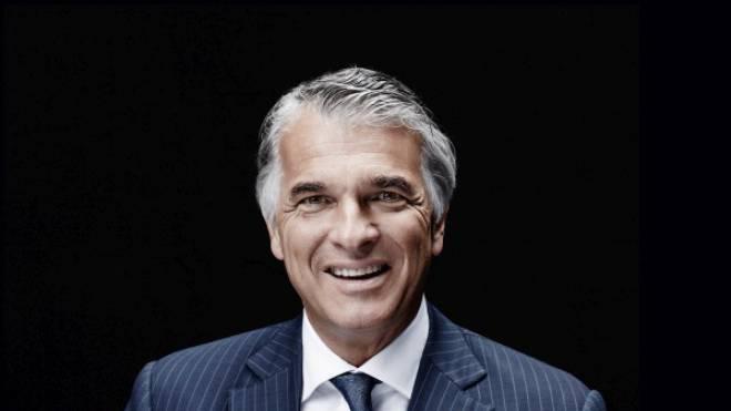 Strahlender Sieger: Sergio Ermotti ist seit vier Jahren Chef der Grossbank UBS.Foto:  Tom Solo/Keystone