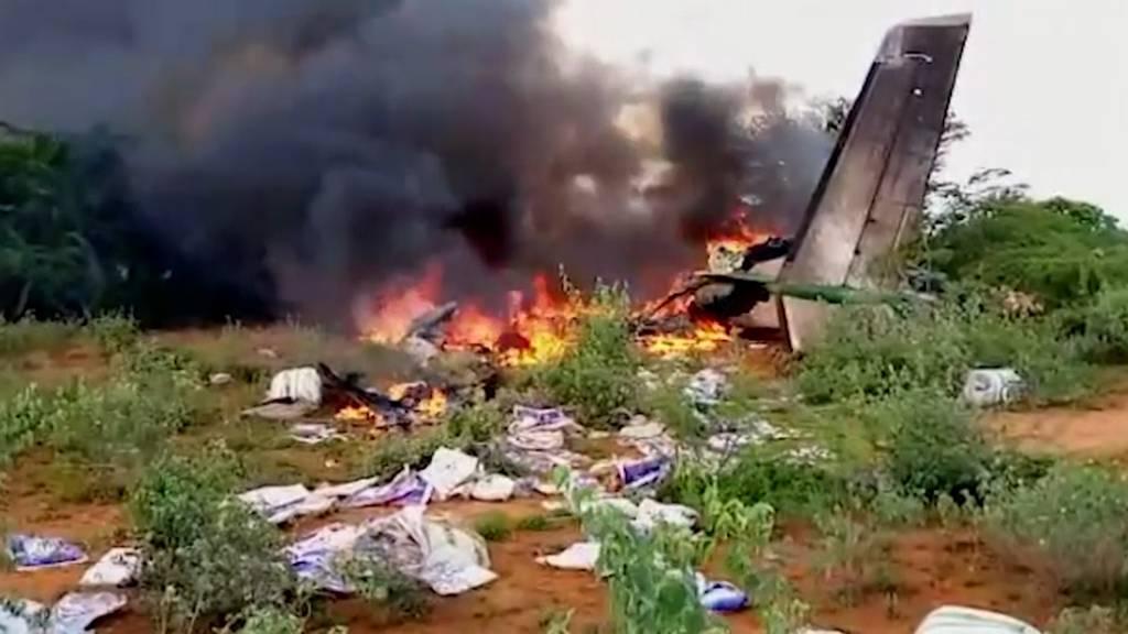 Somalia: Corona-Hilfsflieger stürzt ab und fordert sechs Tote