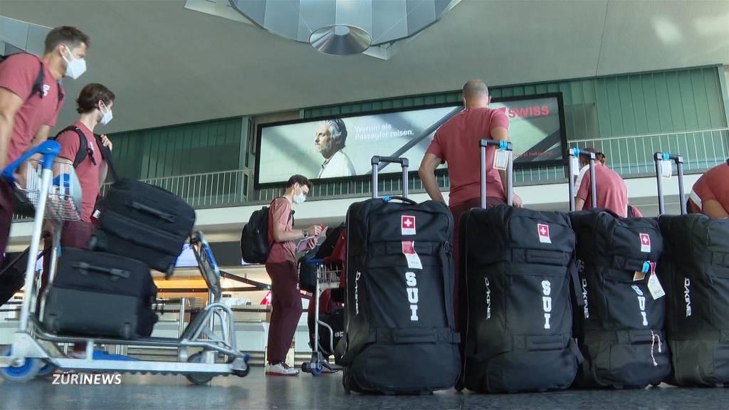 Schweizer Ruderer reisen nach Tokio