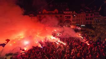 Holt der FC Basel gleich viele Punkte wie YB, dann gehört der Barfi am Samstagabend wieder den Tausenden von FCB-Fans.