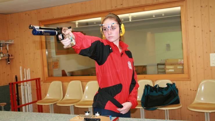 Die talentierte Madeleine Martin ist mit 16 Jahren bereits dreifache Schweizer Meisterin.