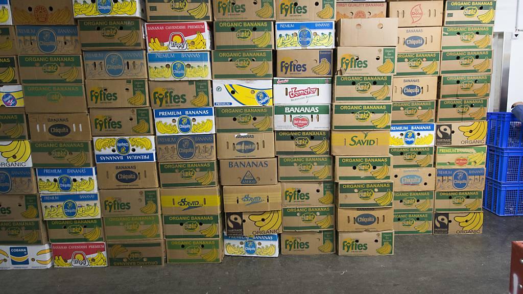 140 Kilo Kokain in Bananenkisten gefunden