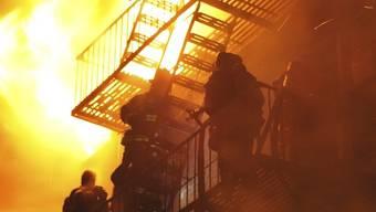 Beim Brand in einem Waisenhaus in Estland sterben zehn Kinder (Symbolbild)