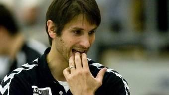 Pfadi-Trainer Adrian Brüngger siegte mit seinem Team bei Suhr Aarau
