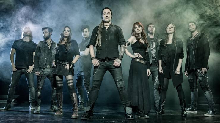 Eluveitie: Seit 2008 ist die Folkmetal-Band regelmässig in den deutschen Charts. Mit dem letzten Album, «Origines (2014), erstmals auch in den Top 10.