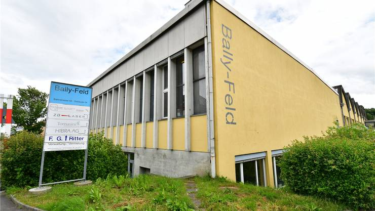 Hier an der Bahnstrasse 43 in Schönenwerd wird künftig «leichtes Wasser» produziert. Bruno Kissling