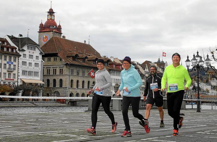 Swiss City Marathon Lucerne 2017 (© Swiss-Image/Andy Mettler)