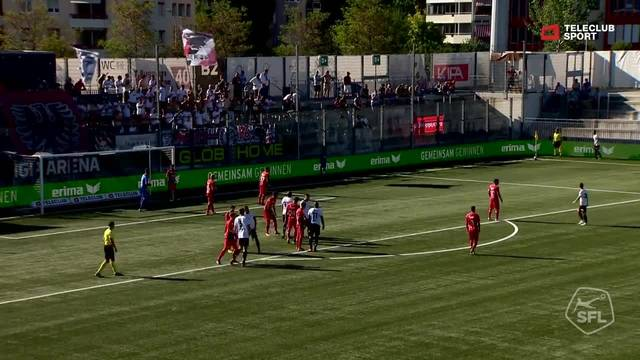 Challenge League, 2018/19, 4. Runde, FC Wil – FC Aarau, 1:0,  Nikki Havenaar