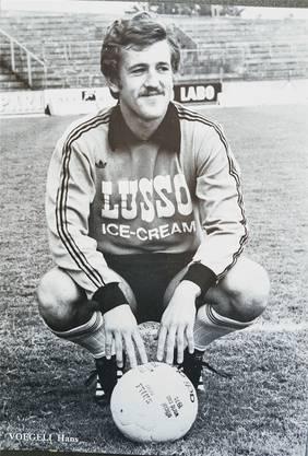 Vögeli war Torhüter beim FC Lausanne-Sports (1977).