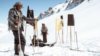 Ein seltenes Bild: Skifahren in Afghanistan.