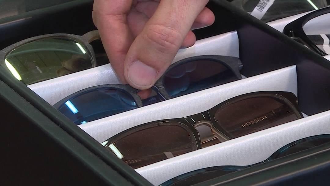 Über 400 Luxus-Brillen in Solothurn geklaut