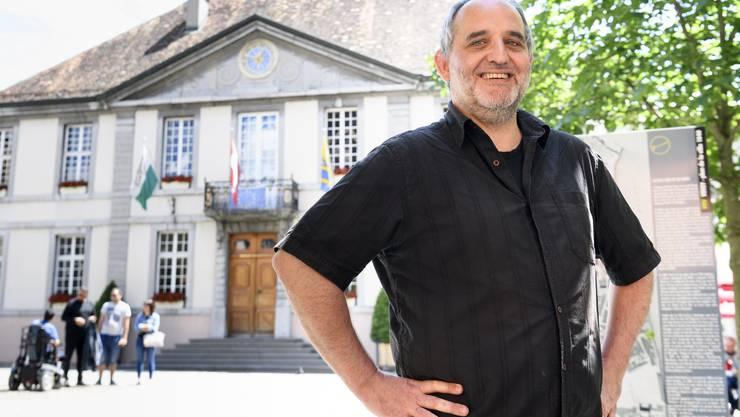 Yvan Luccarini zieht in die Stadtregierung ein.