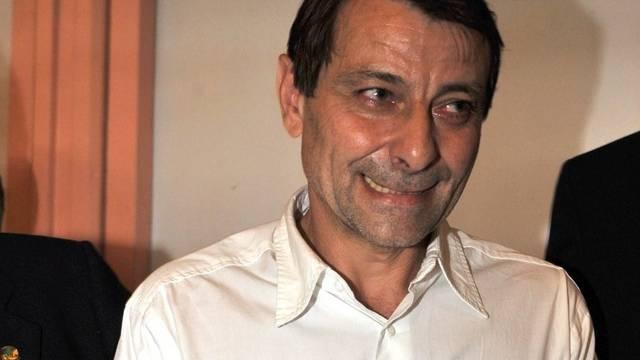 Aufnahme von Battisti im November 2009 im Gefängnis