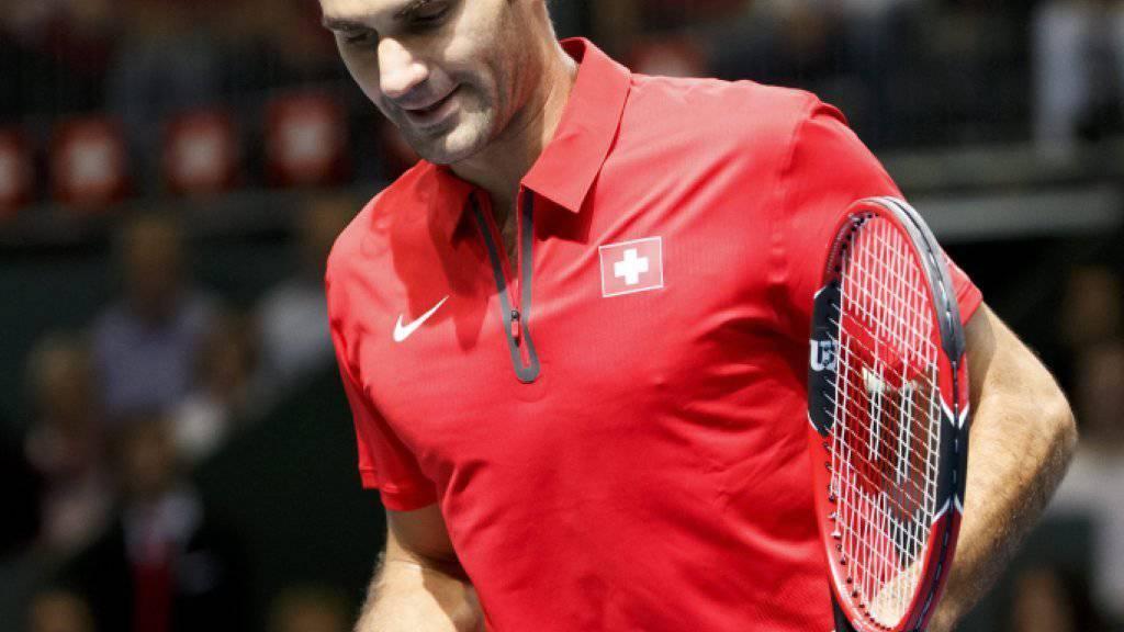 Sicherte der Schweiz den entscheidenden dritten Punkt: Roger Federer