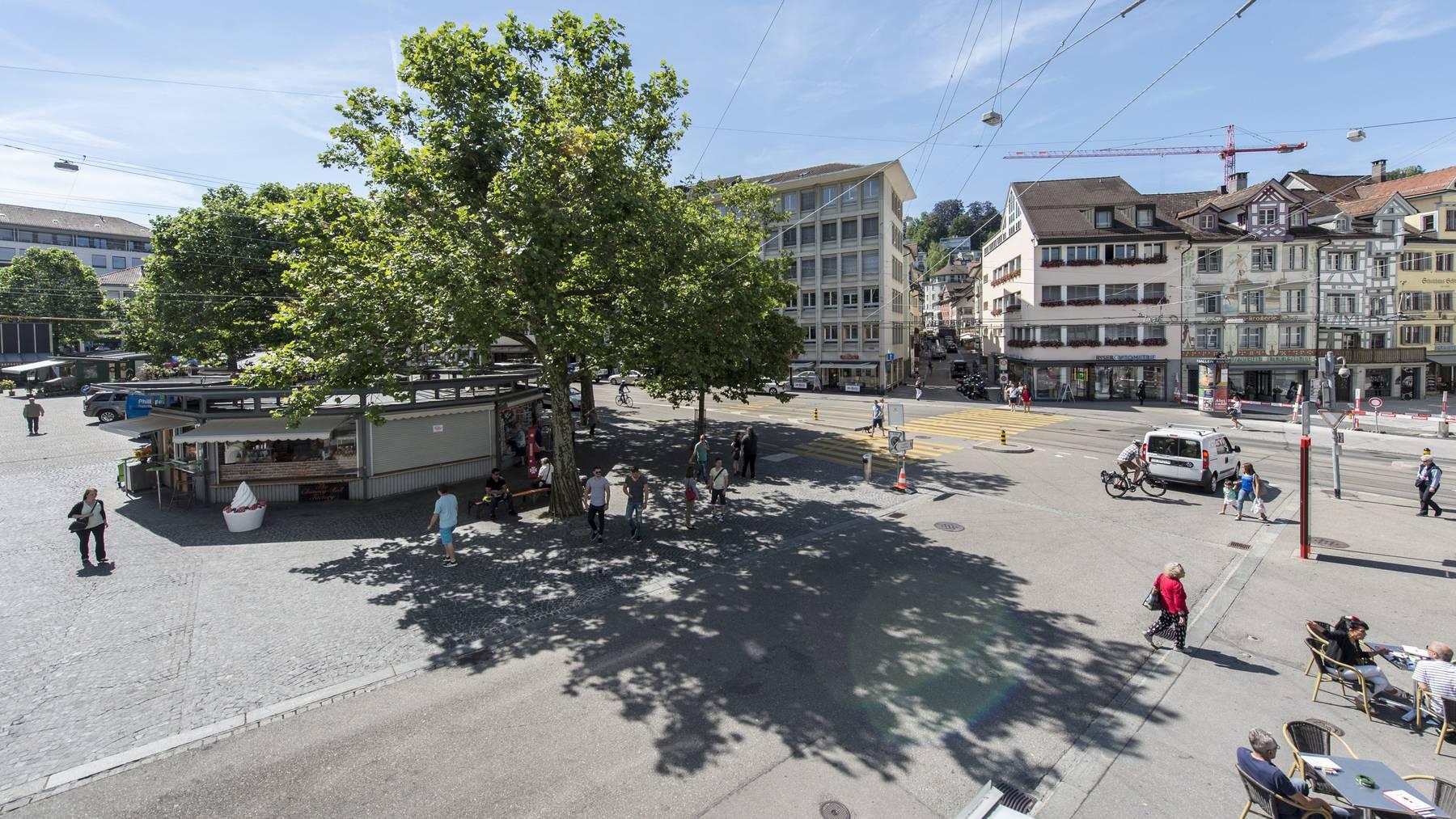 Auf dem Marktplatz sollen künftig kommerzielle Veranstaltungen stattfinden.