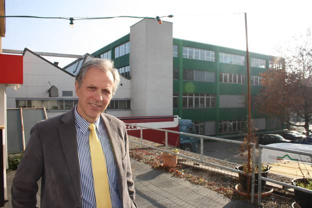 Die Sasolim Immobilien AG ist Eigentümerin der Liegenschaften auf dem Sauser. Auf dem Bild: Raoul Stampfli, VR-Präsident der Sasolim AG. (Fotos: Wolfgang Wagmann)