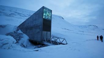 Eingang des Saatgut-Depots ausserhalb von Lonyearbyen (Archiv)