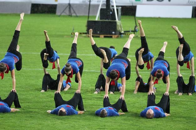 Der STV Langendorf an den Schweizermeisterschaften in Yverdon