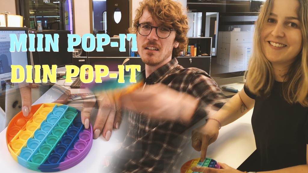 Pop-it-Trend: «Beruhigt mich, aber macht mich wahnsinnig»