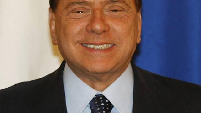 Silvio Berlusconi wird bald erneut Grossvater (Archiv)