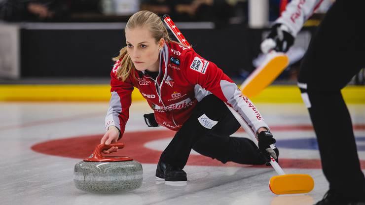 Für die Curlerinnen um Briar Hürlimann ist die Saison vorzeitig beendet.