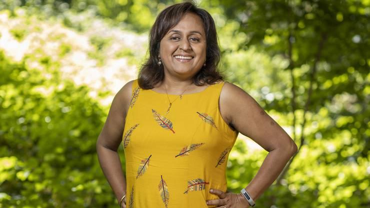 Rupa Mukerji schätzt das viele Grün in Zürich.