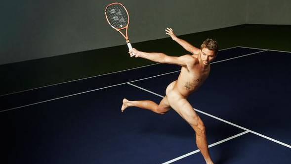 Nackter Wawrinka: «Ich bin überhaupt kein Model.»