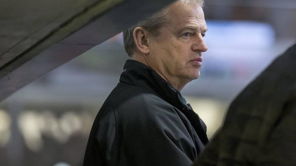 Bengt-Ake Gustafsson bleibt mit Olten erster Verfolger von Rapperswil-Jona.
