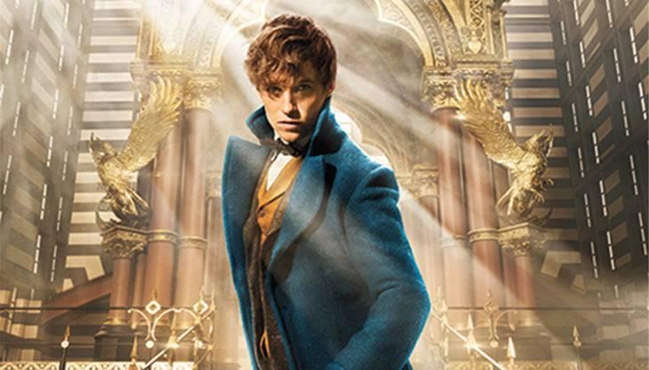 Harry Potters Nachfolger: Eddie Redmayne als Zauberer Newt Scamander. HO