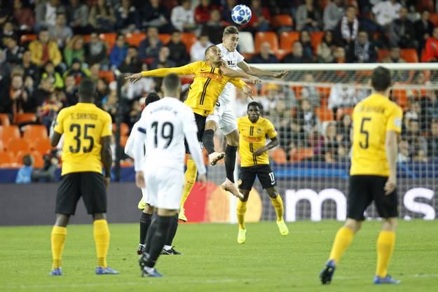 Die besten Bilder vom Match YB gegen Valencia.