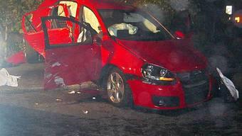 Der Raser-Unfall von Schönenwerd 2008. Bilder wie diese soll es nicht mehr geben.