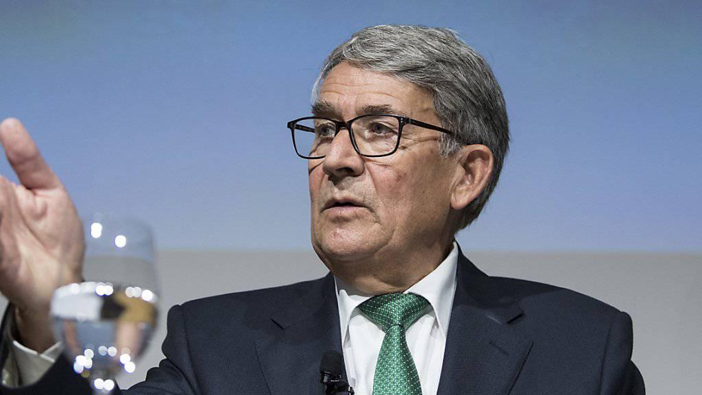 Post-Verwaltungsratspräsident Urs Schwaller gibt am Montag bekannt, dass die gesamte Geschäftsleitung der Post freigestellt wird.