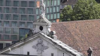 Das Dach der Jesuitenkirche