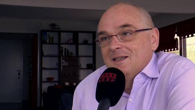 Pierre Alain Schnegg vor der Entscheidung