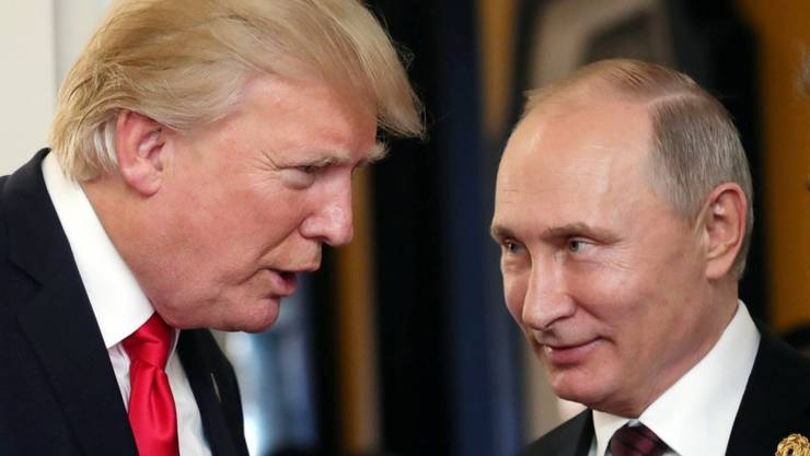 Sprachen über bilaterale Beziehungen: US-Präsident Donald Trump und Russlands Präsident Wladimir Putin. (Archivbild)