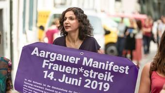 Gabriela Suter, Präsidentin SP Aargau, hofft, dass mehr Frauen in den Grossen Rat gewählt werden.