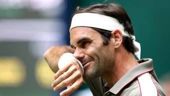 Federer gegen Millman in Halle