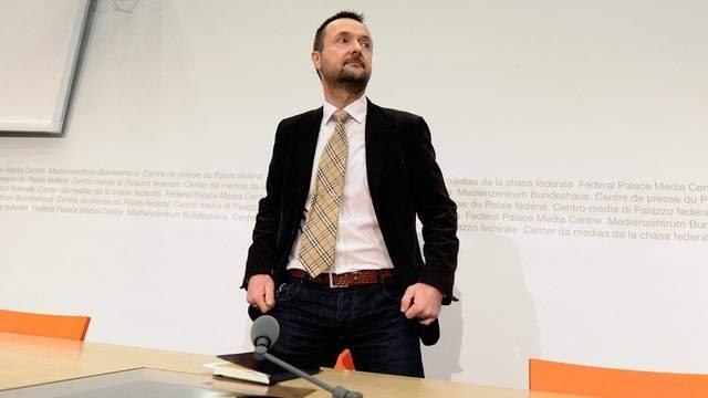 Untersuchungsrichter Andreas Müller beschuldigte die Tinners der Mitwirkung an Urananreicherung (Archiv)
