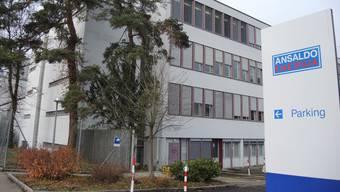 Ansaldo Schweiz hat ihren Sitz in den Pavillons an der Badener Römerstrasse.