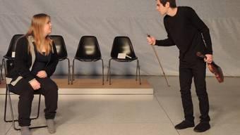 «Schwindler, Trottel und Verblendete» heisst das neue Stück der Theatergruppe der Kanti