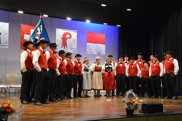 Joderklub Silberbrünneli Ormalingen eröffnet die Veteranenehrung