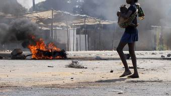 Schwere Unruhen in Mosambik gegen höheren Brotpreis (Archiv)