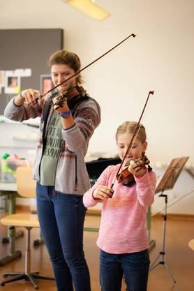 Violine, Regula Gebhard  Fotos: KLFotografie
