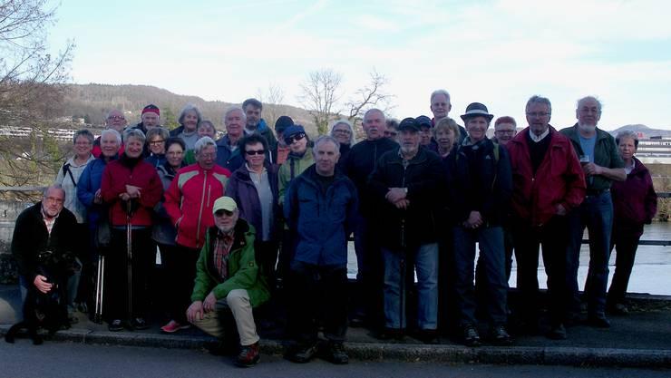 Gruppenbild Februar-Wanderung