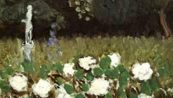 """Ein Ausschnitt aus dem Ölgemälde """"Le Jardin"""" von Henri Matisse"""