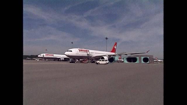 Der letzte Tag der Swissair