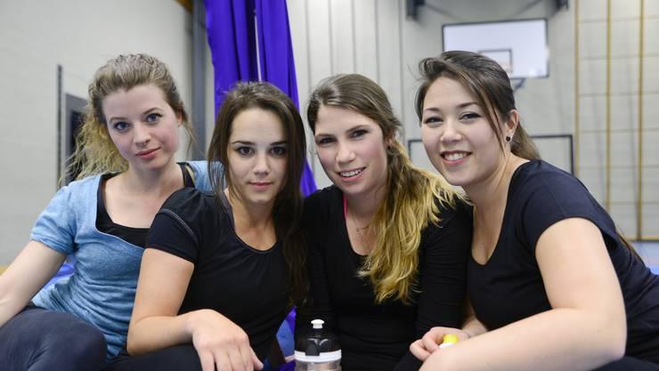 Gehören zu ars volandi: Andrea Häberle, Noemi Tirro, Isabel Kurt und Meieli Reinhard