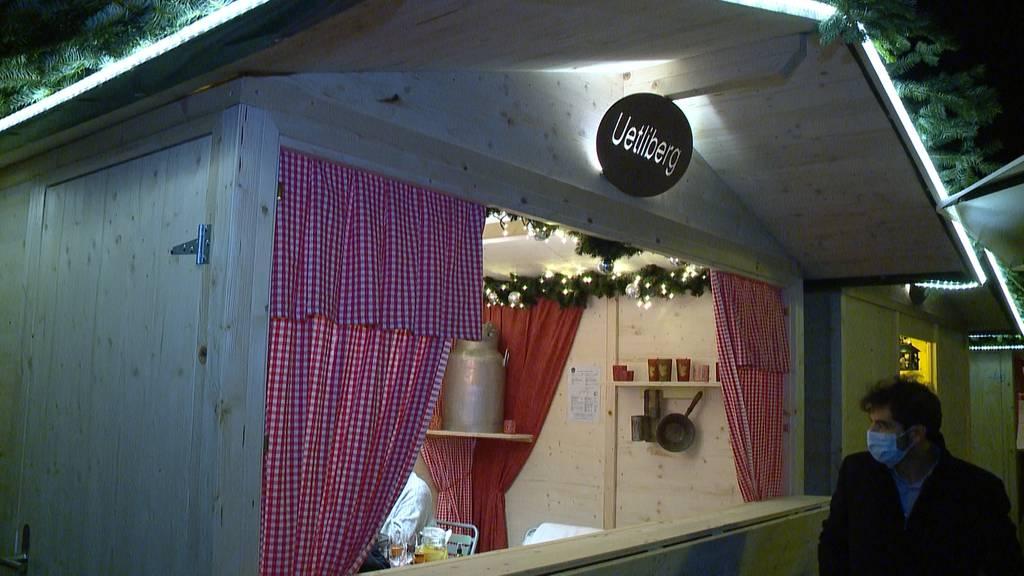 Zürich in Weihnachtsstimmung - trotz Pandemie
