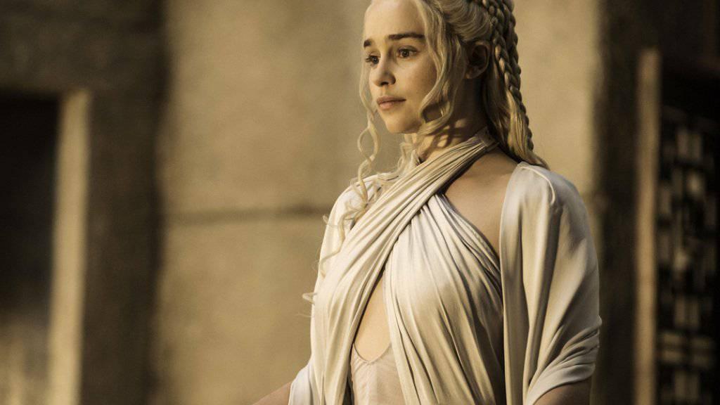 In der Fantasy-Serie «Game of Thrones» spielt sie die Drachenmutter Daenerys Targaryen: die Engländerin Emilia Clarke. Nun übernimmt sie eine «Star Wars»-Rolle (Archiv)