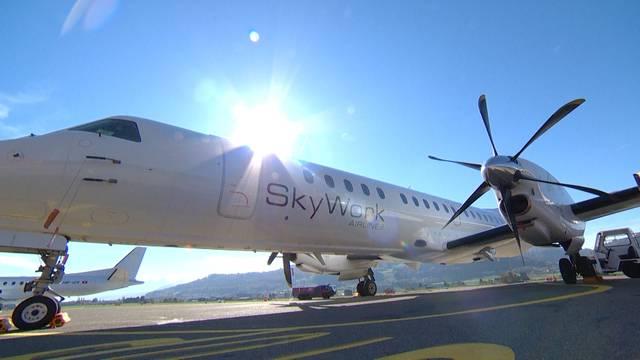 Grounding in Bern: Schweizer Fluggesellschaft SkyWork ist pleite